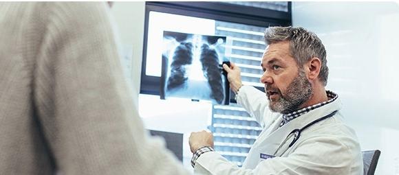 Посещение врача на рентгене