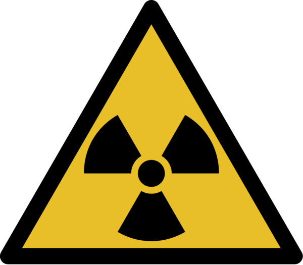 Знак радиоактивного заражения