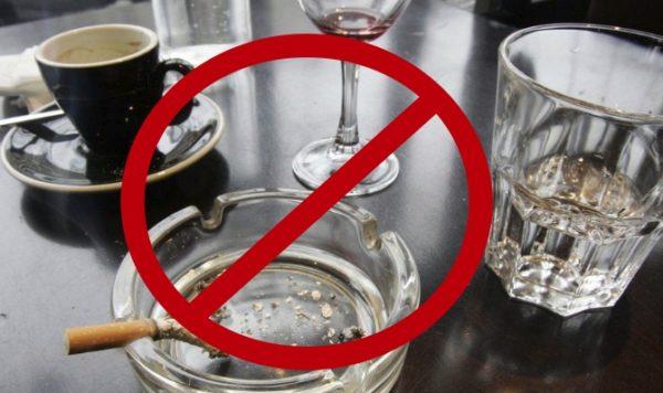 Запрет на алкоголь и курение