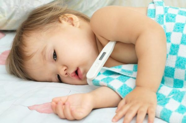 Ребёнок заболел