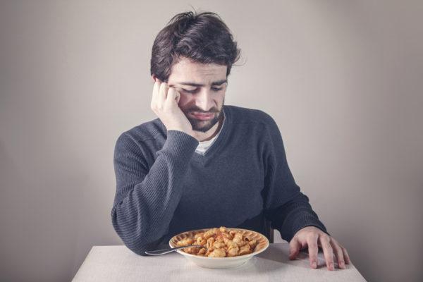 Отказ человека от пищи