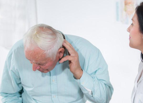 Старик на приёме у врача