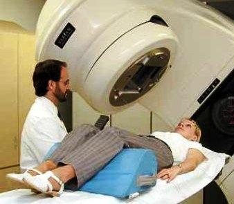 Радиотерапия для женщины