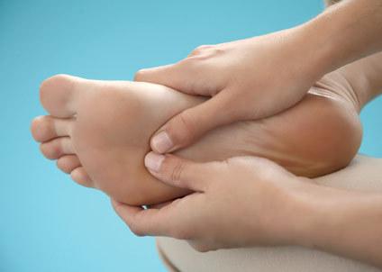Лечебный массаж ноги
