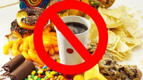 Запрет на нездоровую пищу