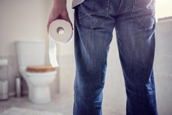Проблемы в туалете у человека