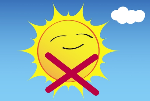 Запрет на солнечный свет