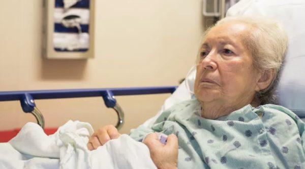 Тяжело больная женщина