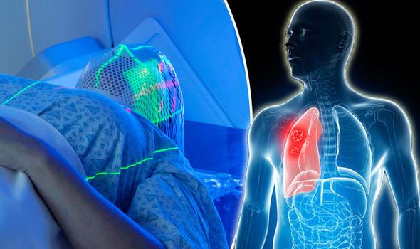 Облучение лёгких человека