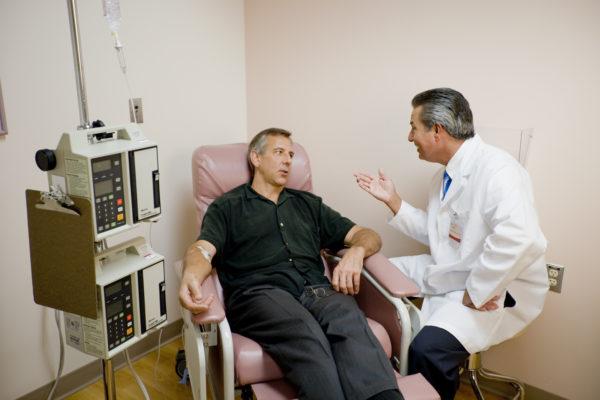 Химиотерапия для мужчины