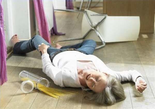 Женщина потеряла сознание