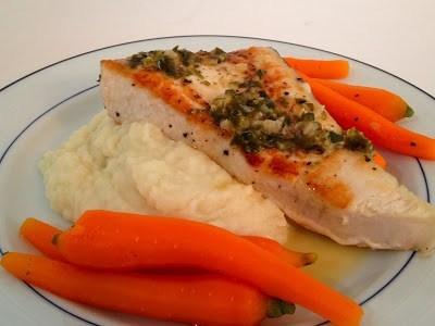 Рыба с картофелем и морковью