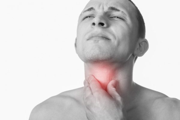 Высокодифференцированный плоскоклеточный рак гортани