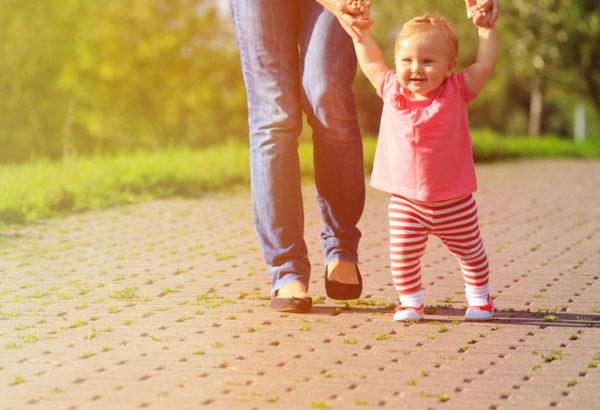 Прогулка с ребёнком