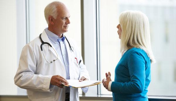 Консультирование женщины гинекологом