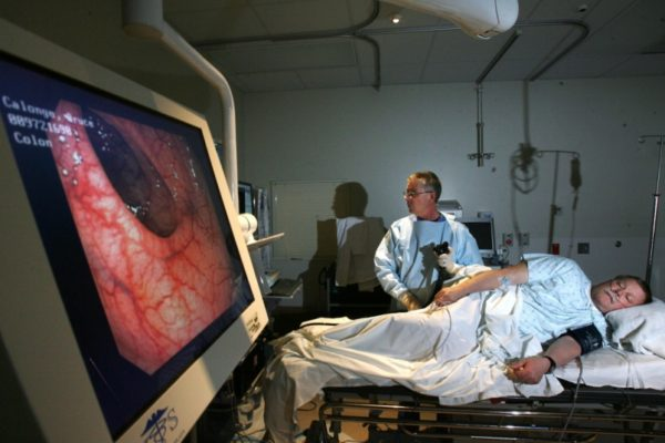 Исследование колоноскопом кишечника