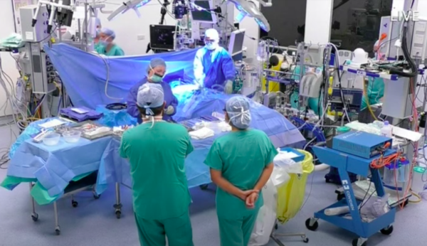 Открытая операция удаления кисты яичника