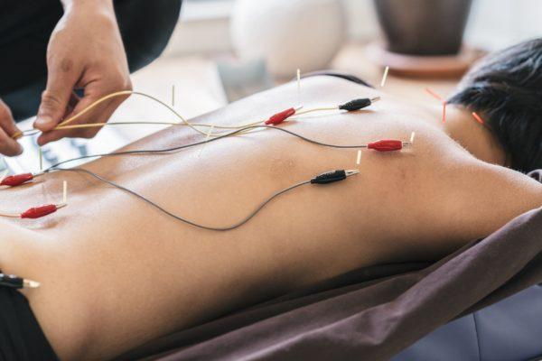Электроакупунктура сустава