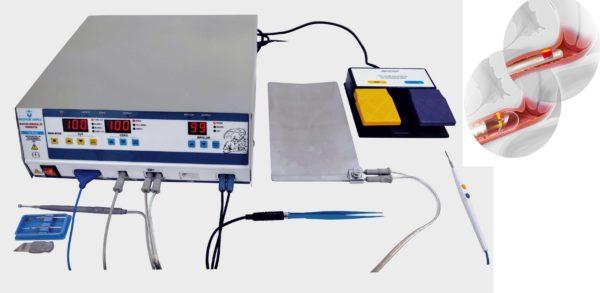 Радиоволновой аппарат для удаления кисты