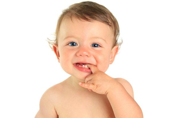 Прорезывание временных зубов