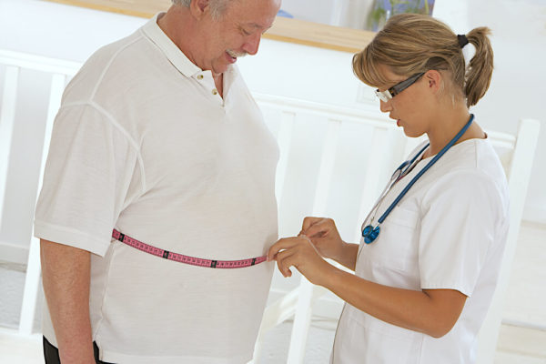 Избыточный вес пациента