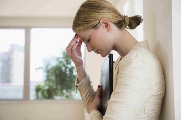 Психоэмоциональное напряжение у женщины